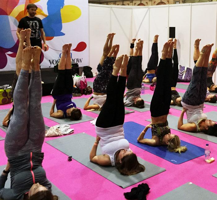 om yoga show glasgow